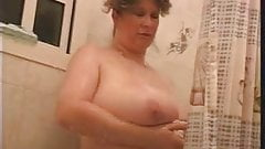 Huge showering