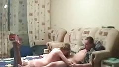 Cute skinny blonde chick gets fucked hard