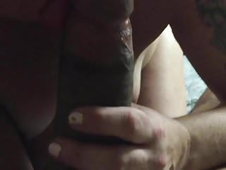 she swallowed a huge ass load after