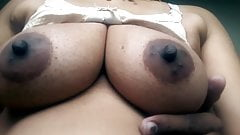 Desi hot beautiful bhabhi boob show