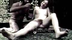 Blowjob and Anal Sex with Champagne (1960s Vintage)