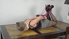 Bondage Blonde Secretary