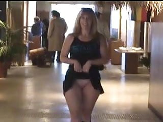 Tasha Shows Her Pussy In Public