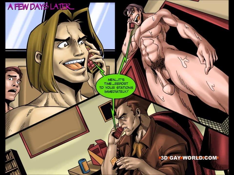 homofil superhero Toon porno stor penis i stor fitte
