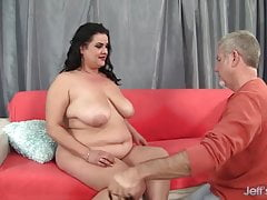 Tempting hot BBW Allision Broadway gets fucked