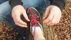 Stranger admiring my feet