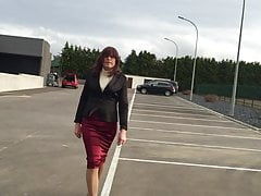 new skirt. mother of all satin skirts )))