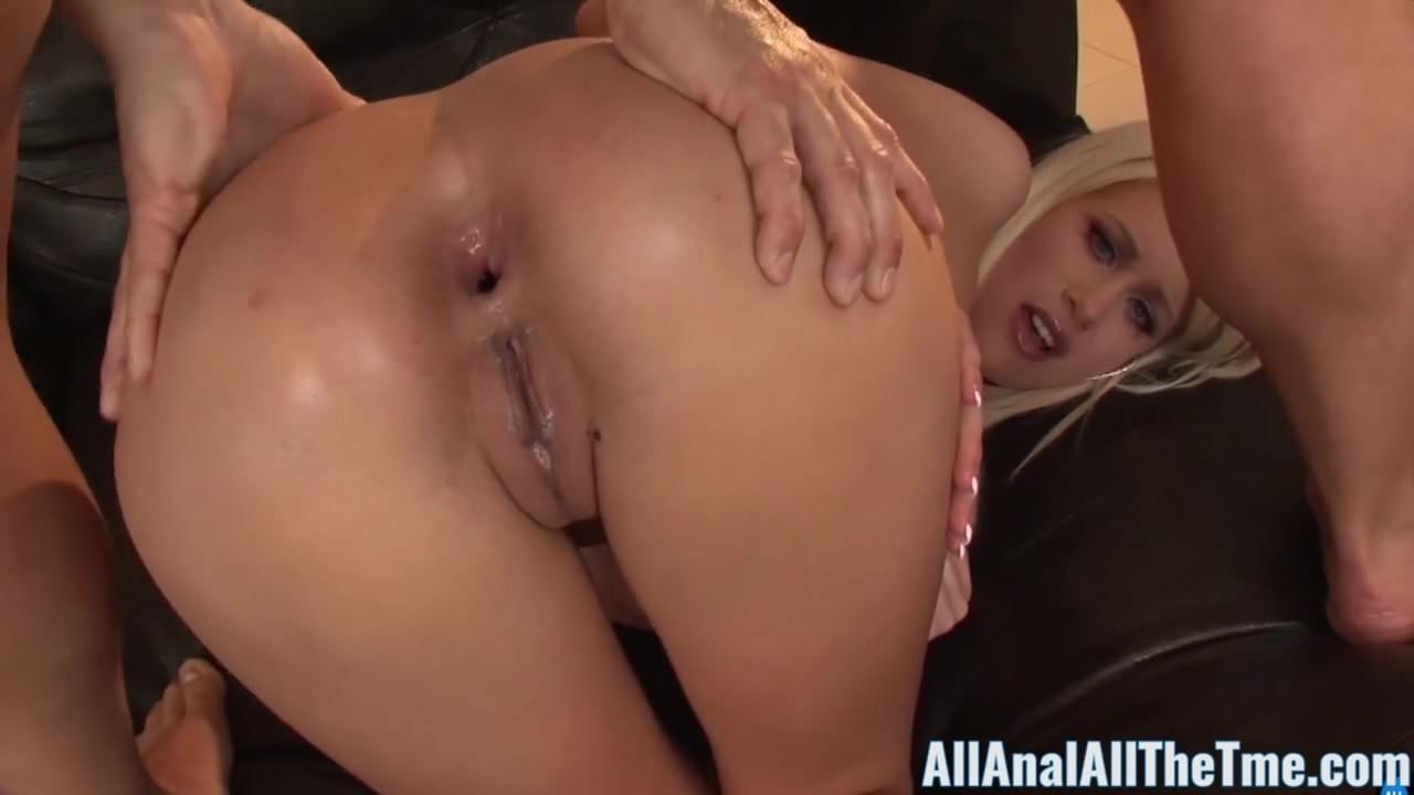 Extreme Anal Gape Creampie