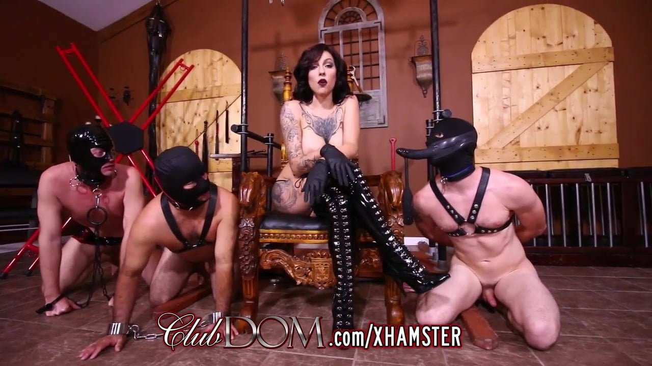 Free download & watch tattooed femdom fucked with dildo then fucks slaves         porn movies