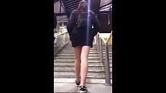 Candid Teen Miniskirt