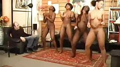 Ebony teen nude dancing