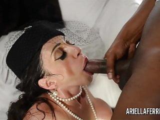 Ariella Ferrera Shows Off and Then Fucks Huge Black Cock