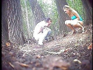 Outdoor pee spy cam
