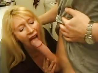 Very Horny French Mommy Fucks Young Rapairguy
