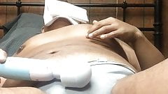 Masturbation in my stinky lavender thong