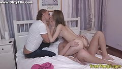 Petite exgf pounded as punishment