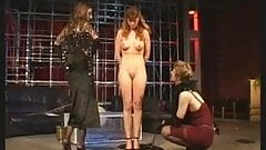 Mistresses use their slave girls