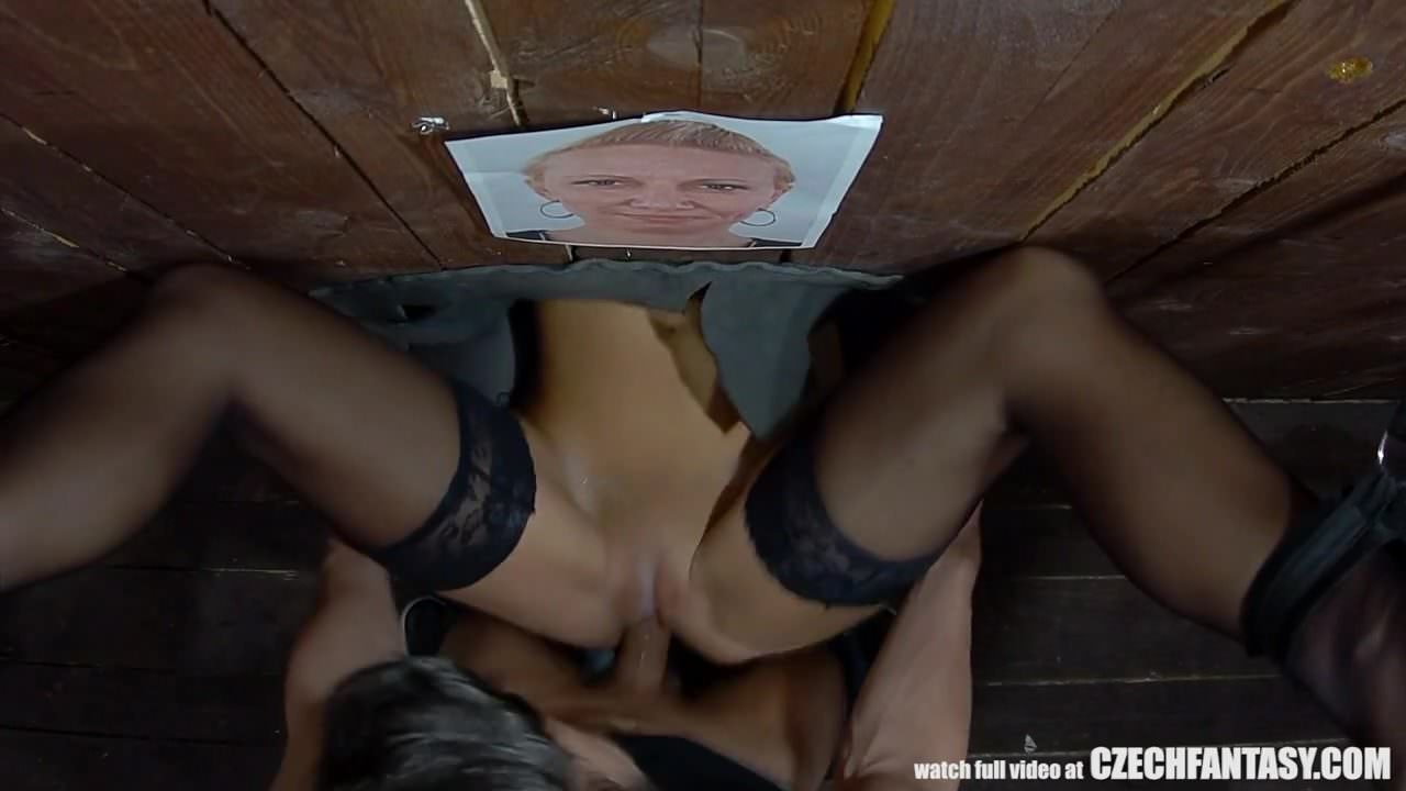 Glory hole sex xxx