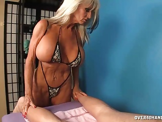 MilfOffers Cock Massage Extra To Her Massage