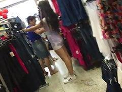 Cum on Ass Teen Tight Dress 4