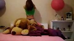 Second video of that horny teen.