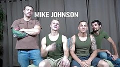 Mike Johnson, Mike O'Brian, Blake Effortley & Leeroy Jones