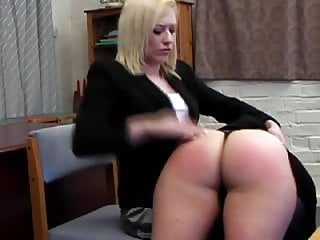 Big Bottom Spanked