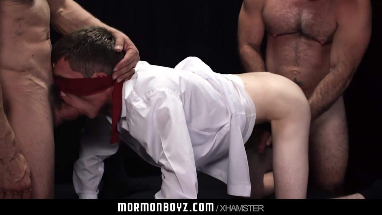 MormonBoyz – Younger missionary crammed by two daddy monster co