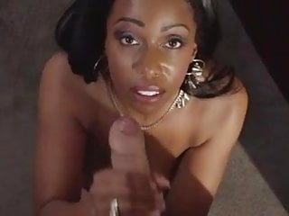 Gorgeous Ebony Codi Bryant Gets Big Pov Cum Load