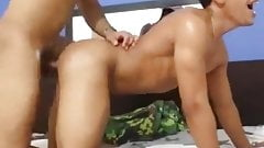 a twink and an older guy have bb sex on cam