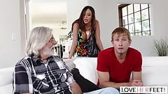 LoveHerFeet - Stepmom Wants My Cum On Her Feet's Thumb
