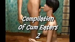 Compilation Of Cum Eaters