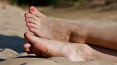 Feet 026 - Sandy Feet