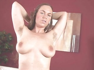 Hairy MILF with Big Tits takes a carpet ride