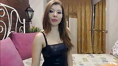 Sexy Asian Smoking On Cam