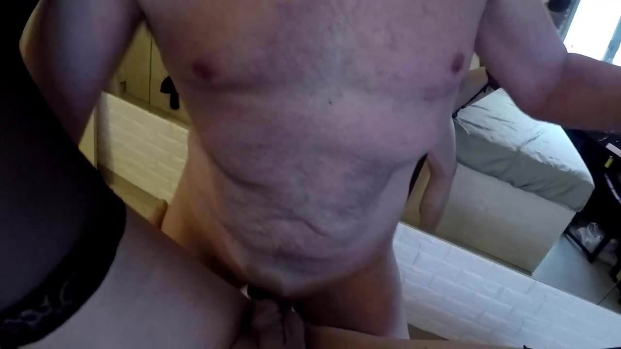 naked mom on dick anal