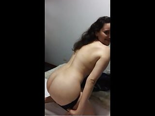 Torrida teases me and drops her panties shows her hot ass