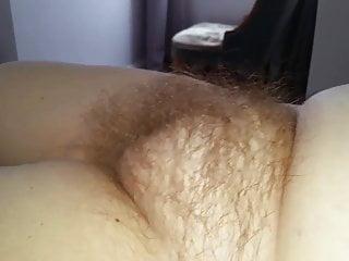 her big soft round hairy pussy mound,
