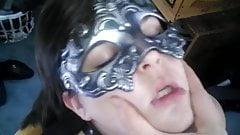Masked bondage slut part 2