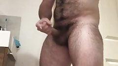 Sexy furry uncut cub cums