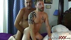 Daddy loves bareback hardcore sex