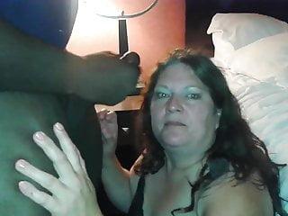 Lily chokes on Black cock