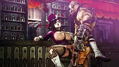 Borderlands 3D Hentai Mad Moxxi getting fucked