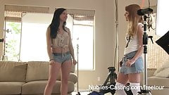 Nubiles Casting - Cameras roll on her first hardcore shoot