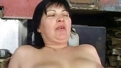 Chubby Granny Anal