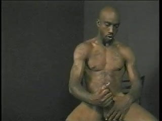 Gangster black guy has his ass fucked