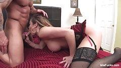 Asian hottie Mia gets a big It