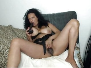 Cam sessions - Squirting MILF whore with saggy tits (part1)