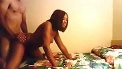 Ebony Chick Love White Dick
