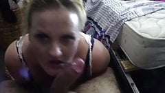 Deepthroat Blowjob. Kristi #6
